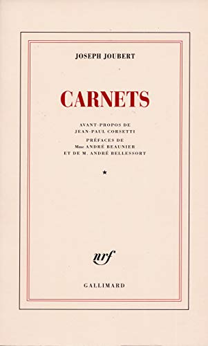 Carnets (1) (Blanche, Band 1)