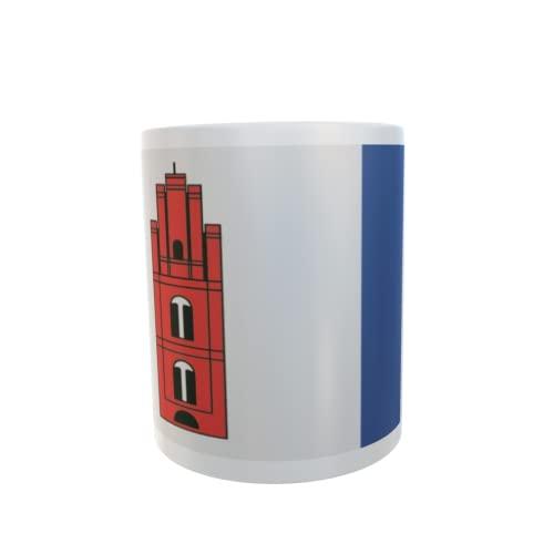 U24 Tasse Kaffeebecher Mug Cup Flagge Walow