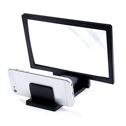 Vergrootglas voor de tas, opvouwbaar, voor de hele kant van het scherm, voor videoversterker Eholder 3 × hands free staing groot vierkant glas voor lezen, sieraden, reparatie O