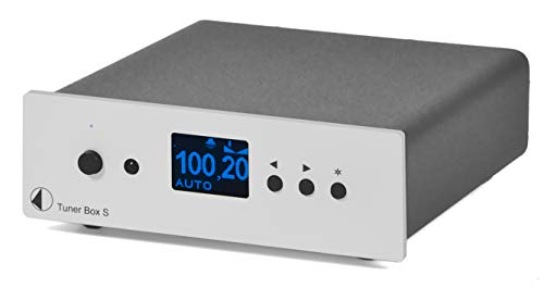 Pro-Ject Tuner Box S Audiophile Tuner, Silver