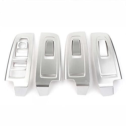 SAXTZDS Cubierta de decoración de Panel de Interruptor de elevación de Ventana Interior de Coche, Apto para Subaru Forester 2019-2020 RHD