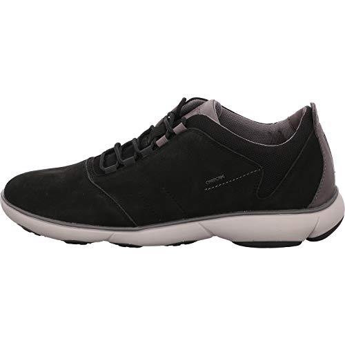 Geox Herren U Nebula C Sneaker, Schwarz (Black C9999), 43 EU