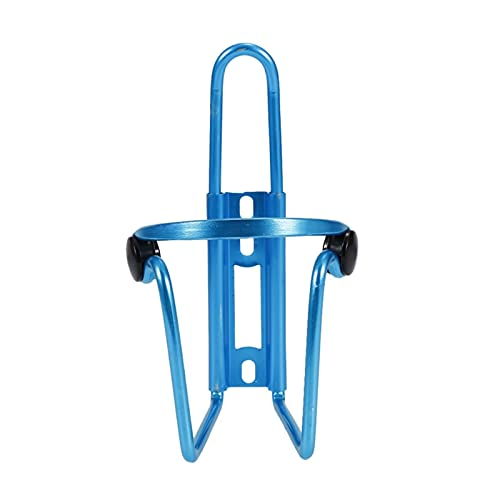 llsdls Aluminum Alloy Bicycle Riding Beverage Bottle Holder Mountain Bike Bottle Holder Support Cage Bicycle Cup Holder Accessories (Color : Blue)