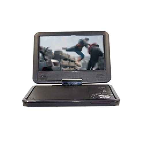HD TV DVD-speler Portable 9 Inch DVD-speler draaibaar scherm, auto-oplader USB SD-kaart Headset TV FM opladen VCD CD MP3 DVD-speler