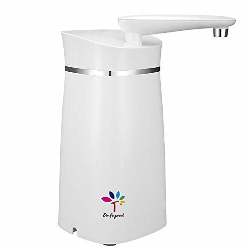 EINFAGOOD Auftisch Wasserfilter, Wasserfilter, entfernt 99% Chlor und Bakterien vom Leitungswasser, verbessert deutlich den Geschmack vom Trinkwasser, Filterleistung 4000 Liter