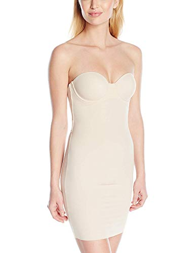 Maidenform Endlessly Smooth-Foam Cup Slip Gonna Corpetto, Beige (Latte Lift...