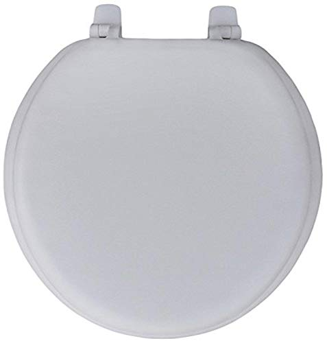 Trimmer Premium Heavy Duty Soft Toilet Seat with Wood Core