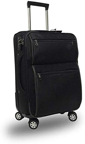 Mochila multiusos Viajes Carrito for equipaje maleta trolley caso Caster contraseña de vacaciones tela de poliéster bolsa ligera maleta Adecuado para escalada, senderismo, camping, ofici ( Size : 24 )
