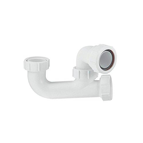 McAlpine Siphon, 40 mm, Weiß