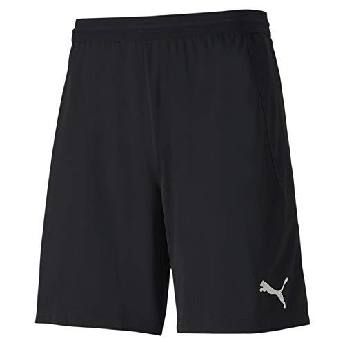 PUMA Herren teamFINAL 21 knit Shorts Black, L