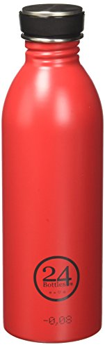 24 Bottles - Gourde Urban 1l Couleur - HOT RED, Taille - T.U