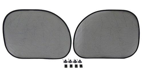 メルテック コンパクトサンシェード サイドウィンドウ 窓枠形状 強力UVカット 2枚 500×360 Meltec CP-25