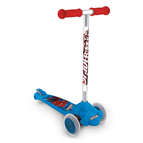 Mondo 18 395 - Scooter Twist and Roll mit Lizenz Spiderman