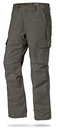 LA Police Gear Mens Urban Ops Tactical Cargo Pants - Elastic WB - YKK Zipper - Sierra - 36 x 34