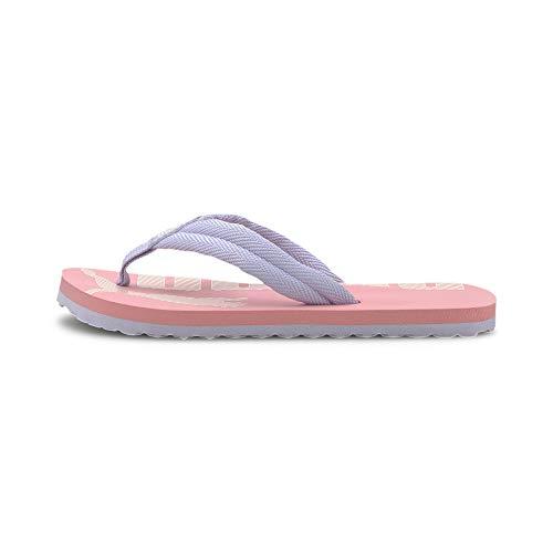PUMA Epic Flip v2 PS, Scarpe da Spiaggia e Piscina Unisex-Bambini, Rosa (Peony-Purple Heather), 33 EU