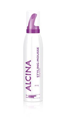 Alcina Styling Strong - Styling - Mousse Verleiht Dem Haar Sichtbar Mehr Volumen, Intensiven Glanz & Fühlbare Geschmeidigkeit - 300 Ml