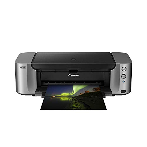 Canon PIXMA Pro-100S Colour Inkjet Printer + Extra Full Set Of Original Canon Inks (Black 900, Grey 492, C 600, M 416, Y 284, LG 835, PC 292, PM 169 Pages)