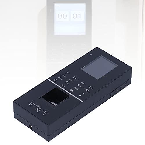 Registrador de tiempo, ampliamente utilizado Buena durabilidad Control de acceso Reloj de tiempo del empleado Aspecto hermoso para mujer para oficina