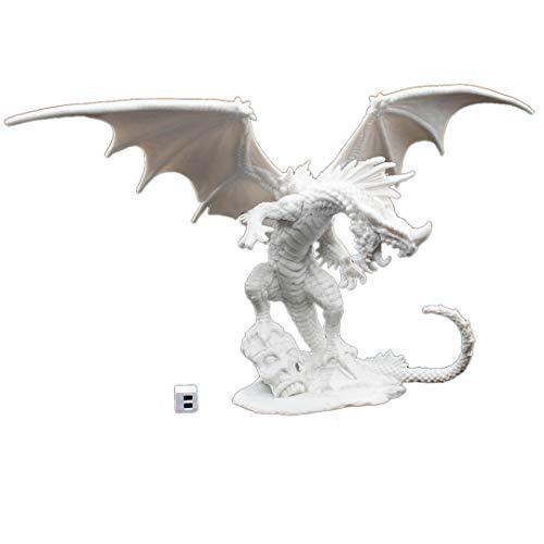 Reaper 89001: Red Dragon - Pathfinder Bones Plastic Miniature