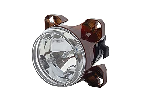 HELLA 1K0 008 192-011 FF/Xénon-Optique, projecteur longue portée - 90mm Essential - 12V - Chiffre de référence: 37.5 - Montage encastré - disperseur limpide - gauche/droite