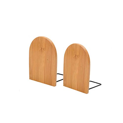 ZZYJYALG Bookend Sket Wooden Capacity Scalleable Screenable Storage Bookshelf Escritorio Estudiante Bookend Book Clip Reliance Inicio Oficina de estudio Sala de estudio Sala de estar Caja de almacenam