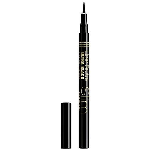 Bourjois - Eyeliner - Liner Feutre Slim - Pointe feutre - Ultra fin - 17 Ultra Black - 0,8 ml