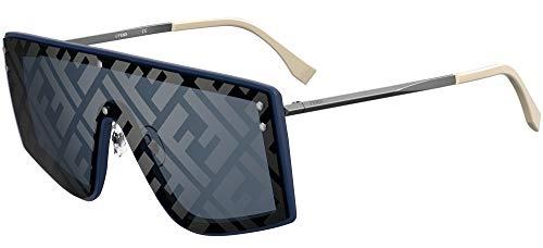 FENDI Gafas de Sol FABULOUS FF M0076/G/S BLUE/BLUE 99/1/145 hombre