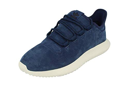adidas Originals Tubular Shadow Mens Running Trainers Sneakers (UK 6.5 US 7 EU 40, Dark Blue Black White BB6870)
