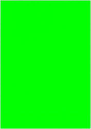 Neptun Flex-Folie neon grün Rolle 210 mm x 1 m