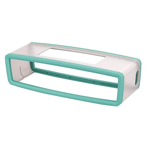 XuBa Tragbare Silikonhülle für Bose SoundLink Mini 1 2 Sound Link I II Lautsprecher Schutz Hülle Skin Box Lautsprecher Tasche Minzgrün mintgrün