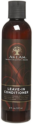 As I Am Leave-In Conditioner, 8 oz (Pack of 2)