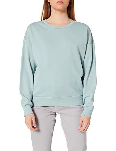 ONLY Damen ONLDREAMER Life Rib L/S O-Neck SWT Sweatshirt, Slate, L
