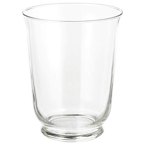 My-Stylo Collection - Vaso/Lanterna in vetro trasparente, 18 cm, dimensioni del prodotto: altezza: 18 cm,...