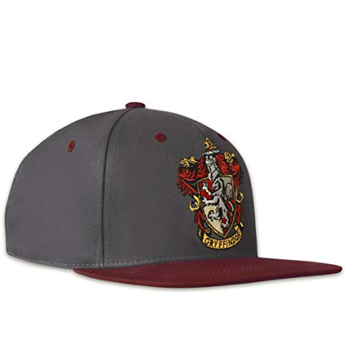 Logoshirt®️ - Harry Potter - Gryffindor - Logo - Snapback 2-Tone - Cap - Bestickt - Lizenziertes Originaldesign