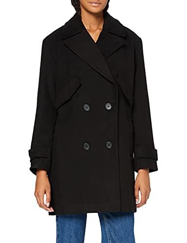 Amazon-Marke: find. Damen Cabanjacke, Schwarz (Black), 38, Label: M