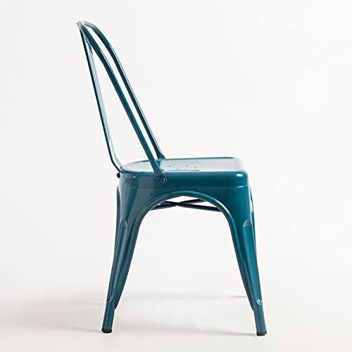 Regalos Miguel - Sillas Comedor - Silla Torix - Verde Azulado - Envío Desde España