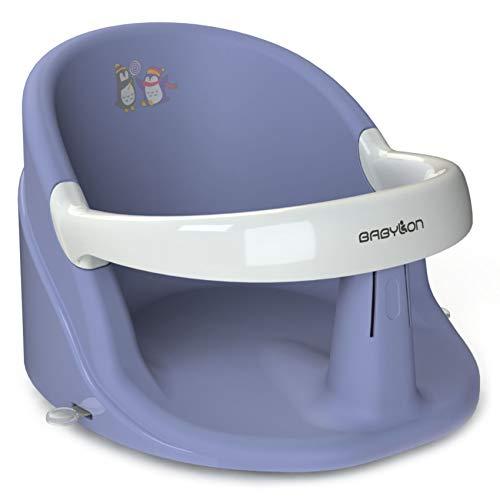 BABYLON asiento bañera bebe Nemo hamaca bañera bebe silla bañera bebe adaptador bañera bebe púrpura