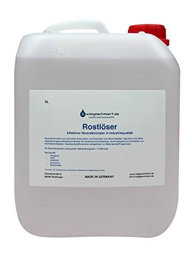 Knaus Schmierstoffe 5 Liter Rostlöser Entroster Rostentferner Rostschutz, 5L Kanister