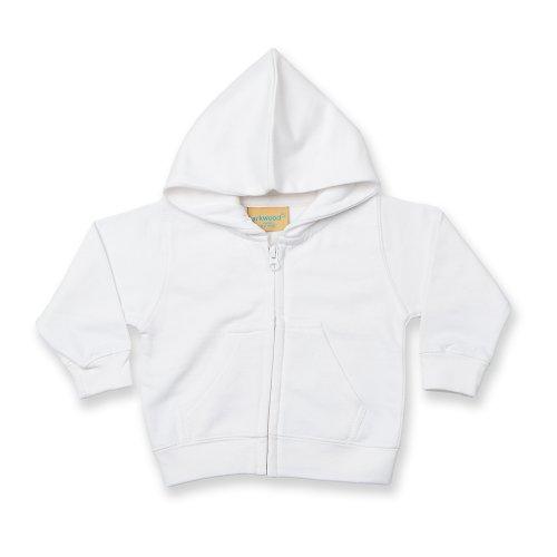 Larkwood Larkwood Baby/Kinder Sweatshirt Jacke (3-4 Jahre) (Weiß)