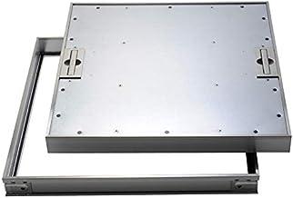 【ナカ工業】床点検口 〜標準モデル〜 NHEⅡSPO/SPOK ステンレス目地で高級感ーPタイル仕上用ー落とし込み取手 (450×450)