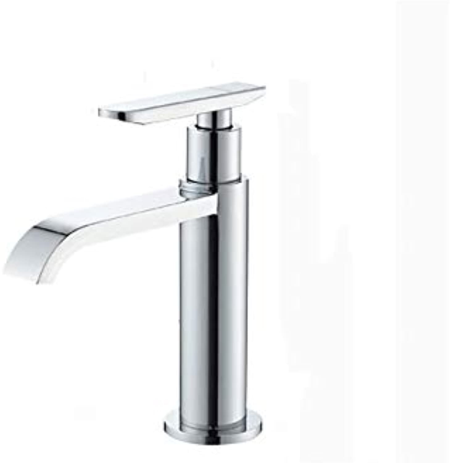 LOOZY Kitchen Bathroom Universal Faucet Copper Faucet Single Cold Tap Washbasin Mixer Single Hole redating Faucet