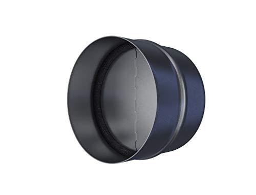 Bloqueador de tiro – Conducto del amortiguador de tiro – Tapón de drenaje – Preventador de reflujo – Ventilación en línea – Deflector de ventilación (5'' pulgadas)