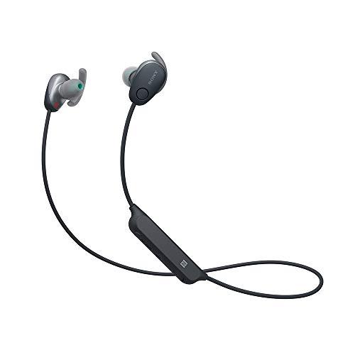 Sony WI-SP600N/B Wireless in-Ear Sports Headset with Mic - Black (Renewed)
