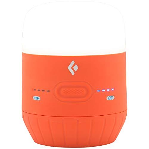 Black Diamond Moji Charging Station Octane / Basecamplicht und Ladegerät zugleich - helle LED-Leuchte zum Camping und Powerbank für elektronische Geräte / Kleine Laterne, max. 250 Lumen