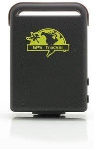 XEXUN GPS Tracker - ORIGINAL XEXUN TK102-2 Peilzender - Model 2018 V14 - QUAD-BAND - met Micro-SD-geheugenoptie met nieuwe SRIF III module voor 20 kanalen, voor auto - vrachtwagen - kind - fiets, wiebelstroombesparingssensor - Peilzender - GPS-bepaling via GSM/GPRS/SMS voor Bescherming, locaties voor personen en diefstalbeveiliging (auto's, boten, motorfietsen enz.), ruimtes van voertuigen, vlotmanagement, SOS-functie, geo-hek, snelheidsalarm.