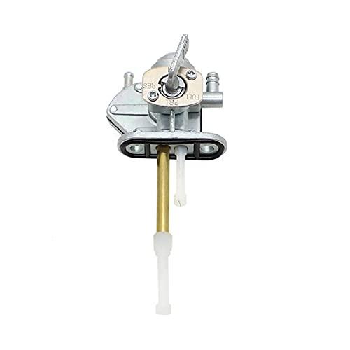 Stubble El ensamblaje de la válvula del Interruptor de Aceite de la Motocicleta es Adecuado para Suzuki Suzuki Bandit GSF600S GT750 (Color : Silver)