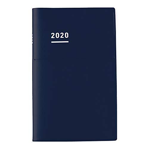 コクヨ ジブン手帳 Biz mini 手帳 2020年 B6 スリム マンスリー&ウィークリー マットネイビー ニ-JBM1DB-20