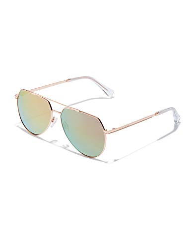 HAWKERS Shadow Sunglasses, METÁLICO, One Size Unisex-Adult