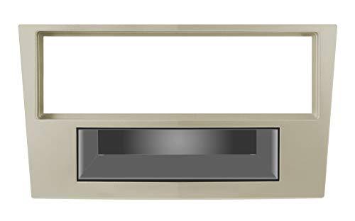PH 3/374 Mascherina con foro ISO colore beige OPEL Astra H 0410 - Antara 06 Corsa D 06 - Zafira 0511