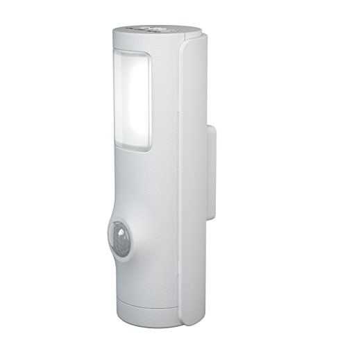 Osram LED Nightlux Torch Batteriebetriebene Leuchte, für innenanwendungen, Bewegungssensor, Tag-Nacht-Sensor, Kaltweiß, 36, 0 mm x 42, 0 mm x 108, 0 mm